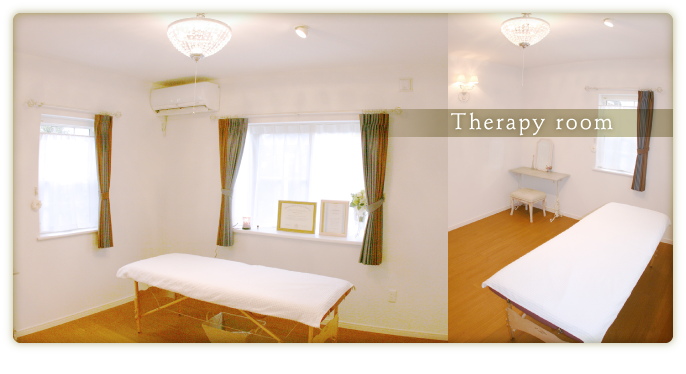 Therapy room(施術室)